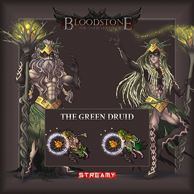 Green Druid Outfit