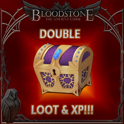Double Loot XP and Skills August 7th and 8th